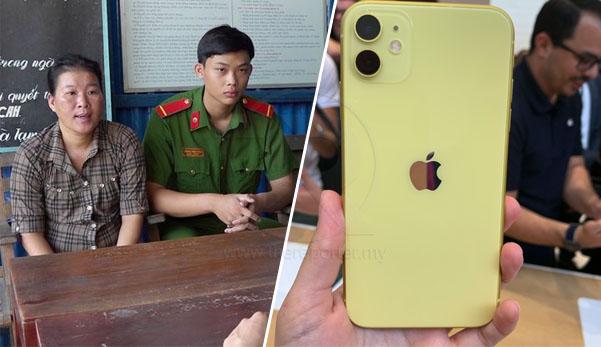 Makcik culik & jual anak saudara demi iPhone 11