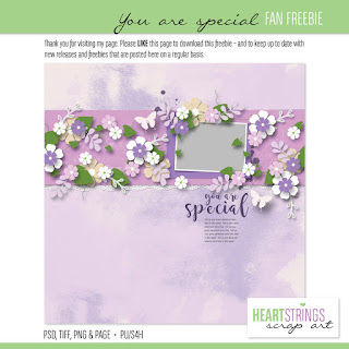 free template from Heartstrings Scrap Art