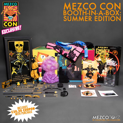 San Diego Comic Con 2020 Exclusive Gomez The Clan of The Golden Dragon Edition One:12 Collective Figure by Mezco Toyz