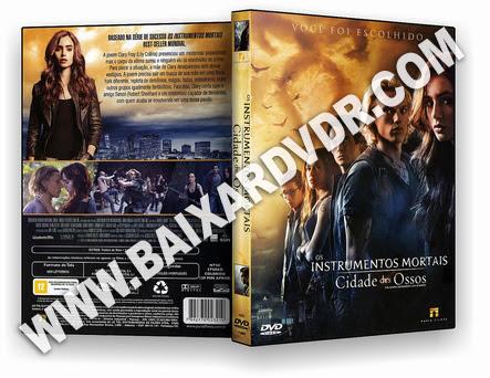 Os Instrumentos Mortais – Cidade dos Ossos (2013) DVD-R OFICIAL