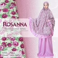 Gambar Mukena Bali Rosanna Pink