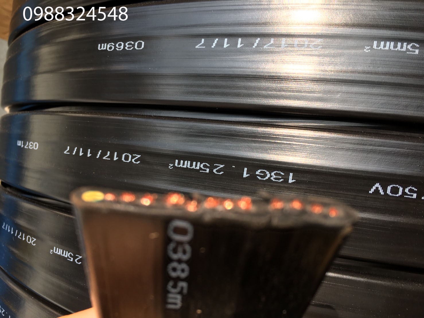 Cáp điện dẹt 13C x 1.25mm2