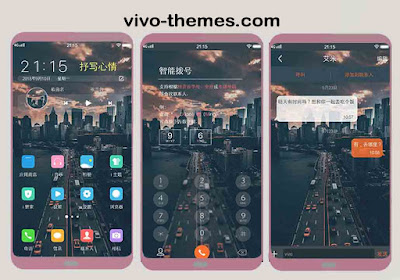 Black City Theme For Vivo Android
