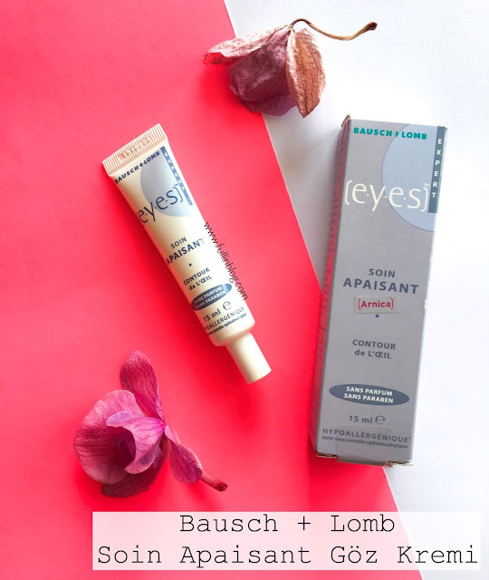 bausch+lomb soin apaisant göz kremi