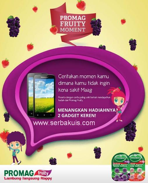 Kontes Promag Fruity Moment Berhadiah 2 Gadget Keren