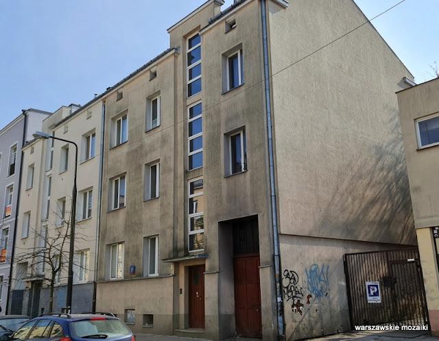 Warszawa Warsaw Praga Południe kamienica warszawskie kamienice architektura architecture lata 30 Zofia Gosiewska