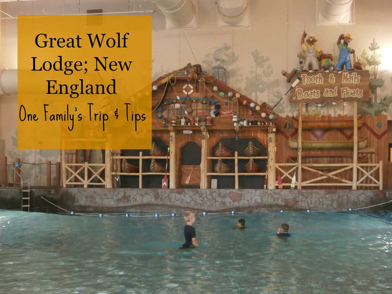 Our Unschooling Journey Through Life: Great Wolf Lodge Review