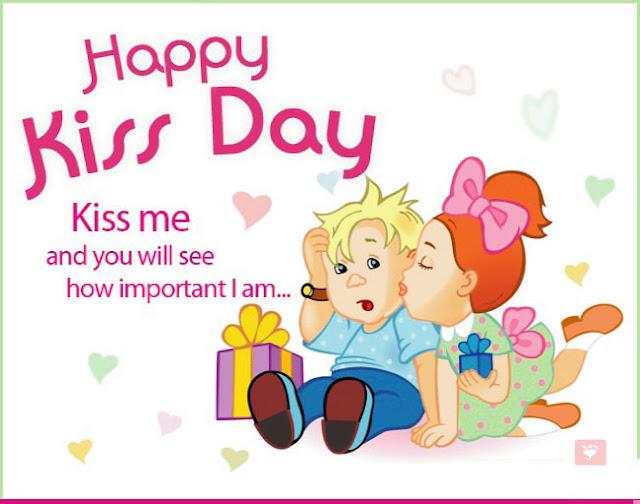 kiss day friend