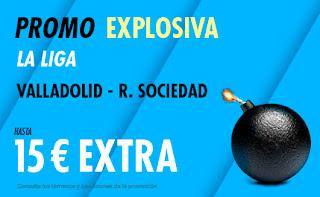 suertia promo Valladolid vs Real Sociedad 13-9-2020