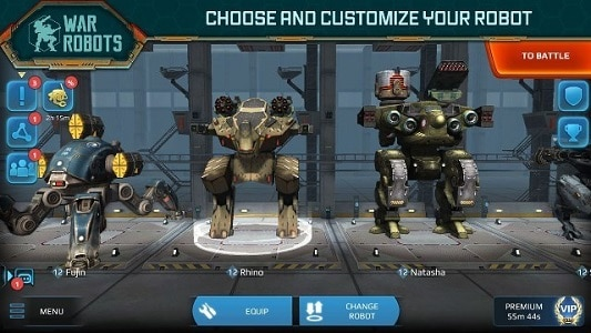 War Robot APK Mod
