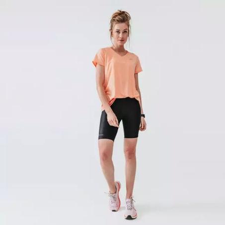 Colanti scurti dama pentru alergare Jogging Run Dry KALENJI