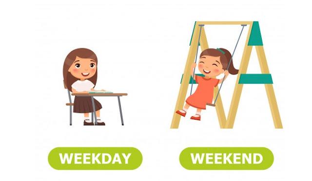 Pengertian Weekend dan Weekday, Ada Yang Belum Tau?