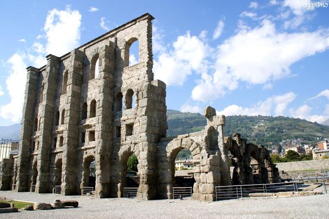 Aosta una delle testimonianze romane