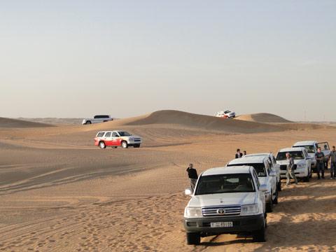 Passeio no deserto em Dubai
