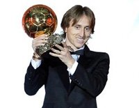 Luka Modric Won 2018 Ballon d'Or Duopoly