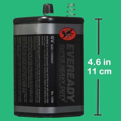 6 Volt Lantern Battery