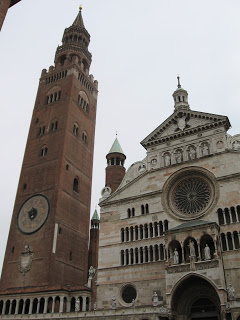 Cremona's famous bell tower, il Torrazzo