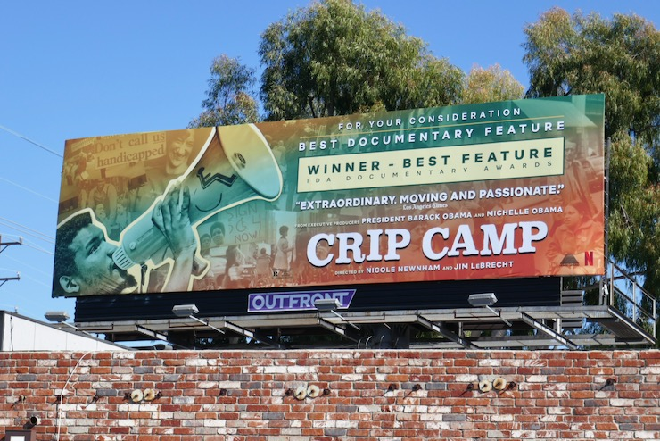 Crip Camp Netflix FYC billboard