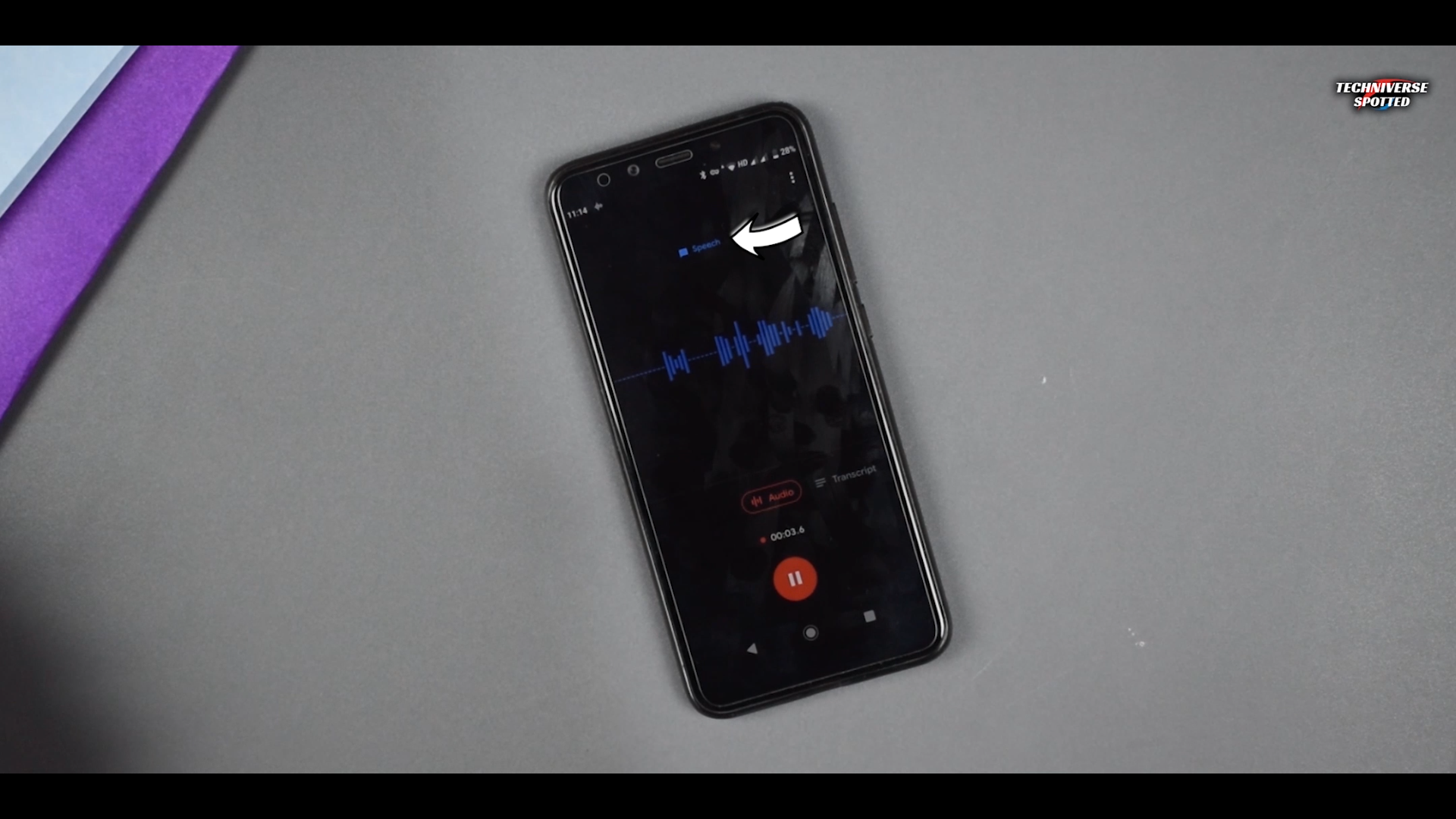 Transcribe the Audio in Real-time With This Recorder.