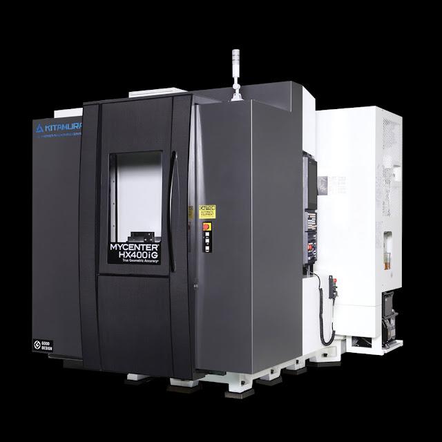 Máy phay cnc 4 trục - Kitamura Mycenter HX400iG