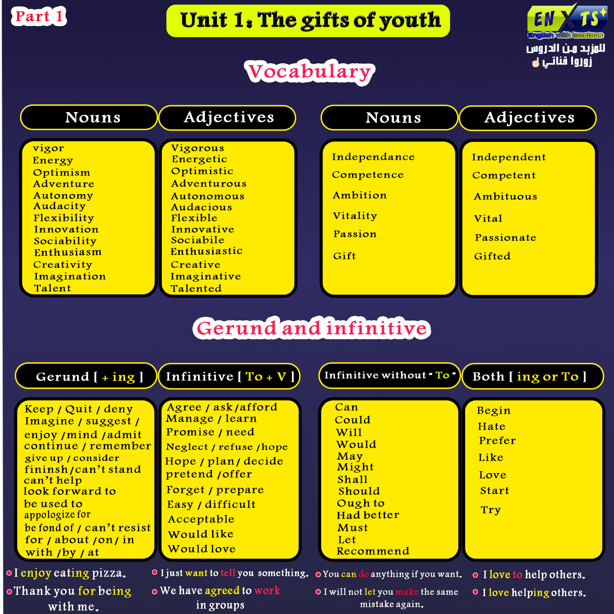 gifts of youth