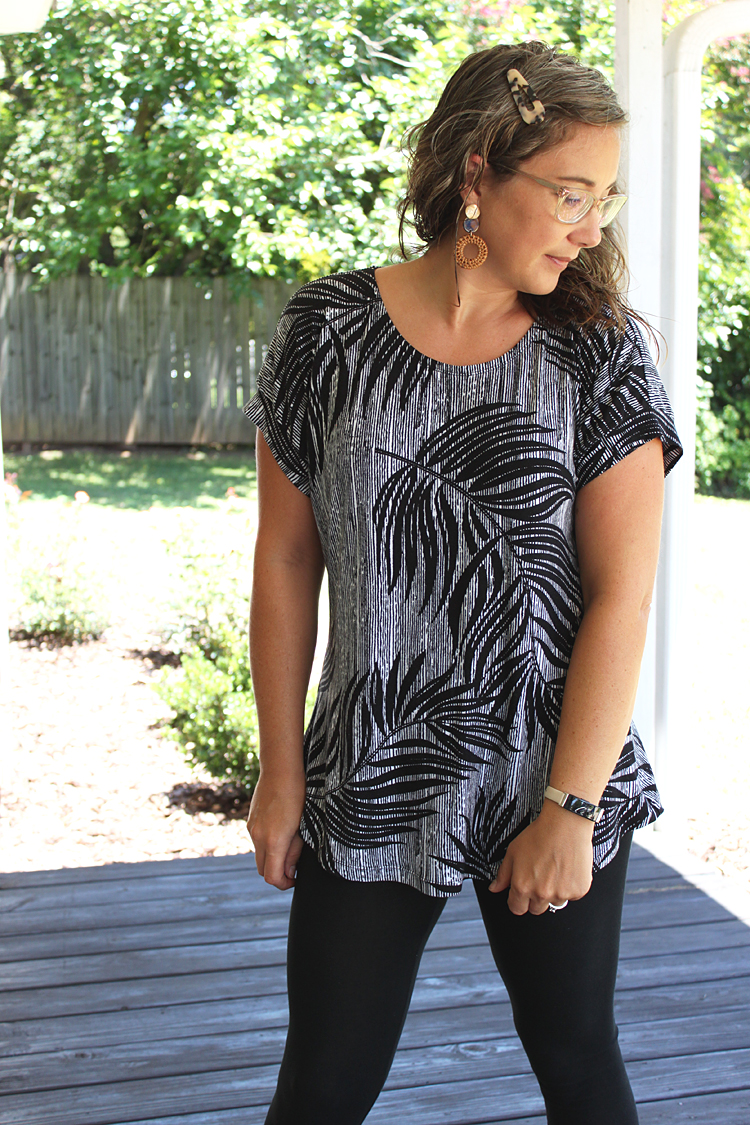 La Bella Donna Tunic // Love Notions Pattern // Sewing For Women