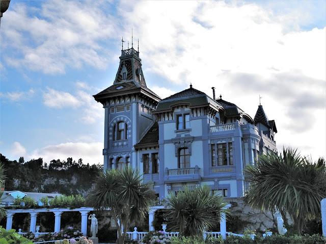 Palacio indiano en Ribadesella