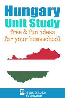 This Hungary unit study is packed with activities, crafts, book lists, and recipes for kids of all ages! Make learning about Hungary in your homeschool even more fun with these free ideas and resources. You can even teach your kids a little Hungarian - but be careful, it's hard! #Hungary #homeschool