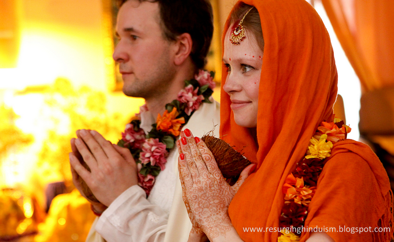 The Vedic Wedding - vivaha-yajna