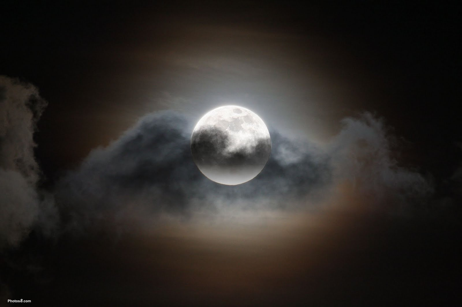 wallpapers full moon night - photo #9