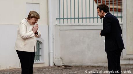 Μέρκελ και Μακρόν χαράζουν κοινή γραμμή για την ΕΕ