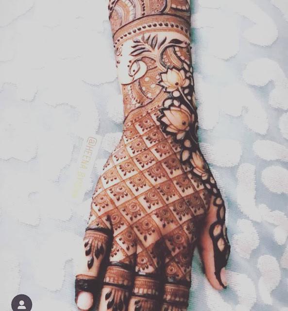 latest arabic mehndi designs 2014 for hands