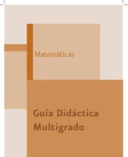Guías Didácticas Multigrado