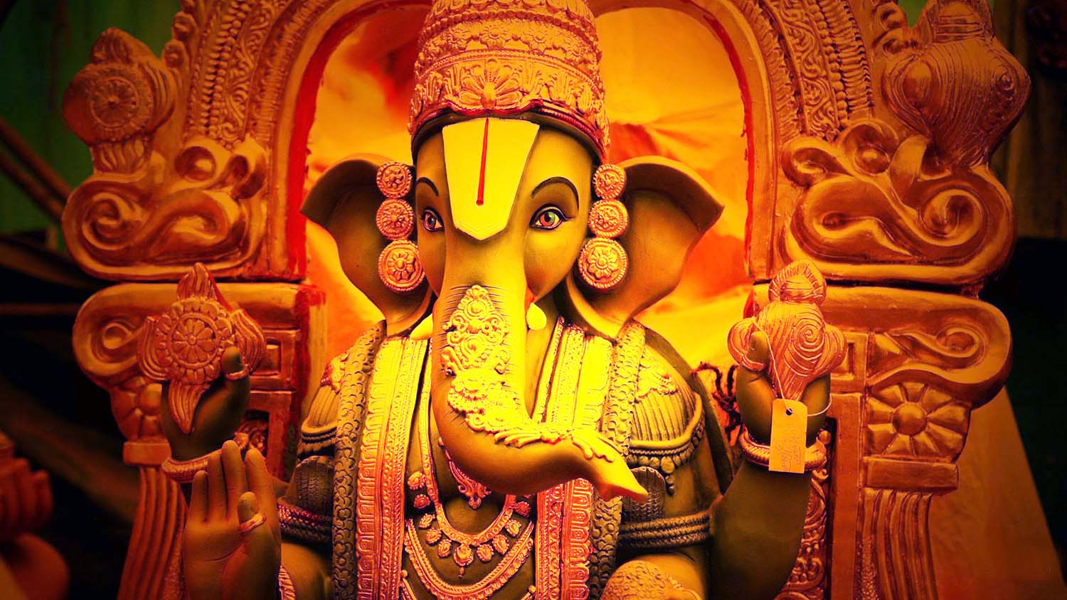 Photo of Ganesh ji in Balaji semblance!