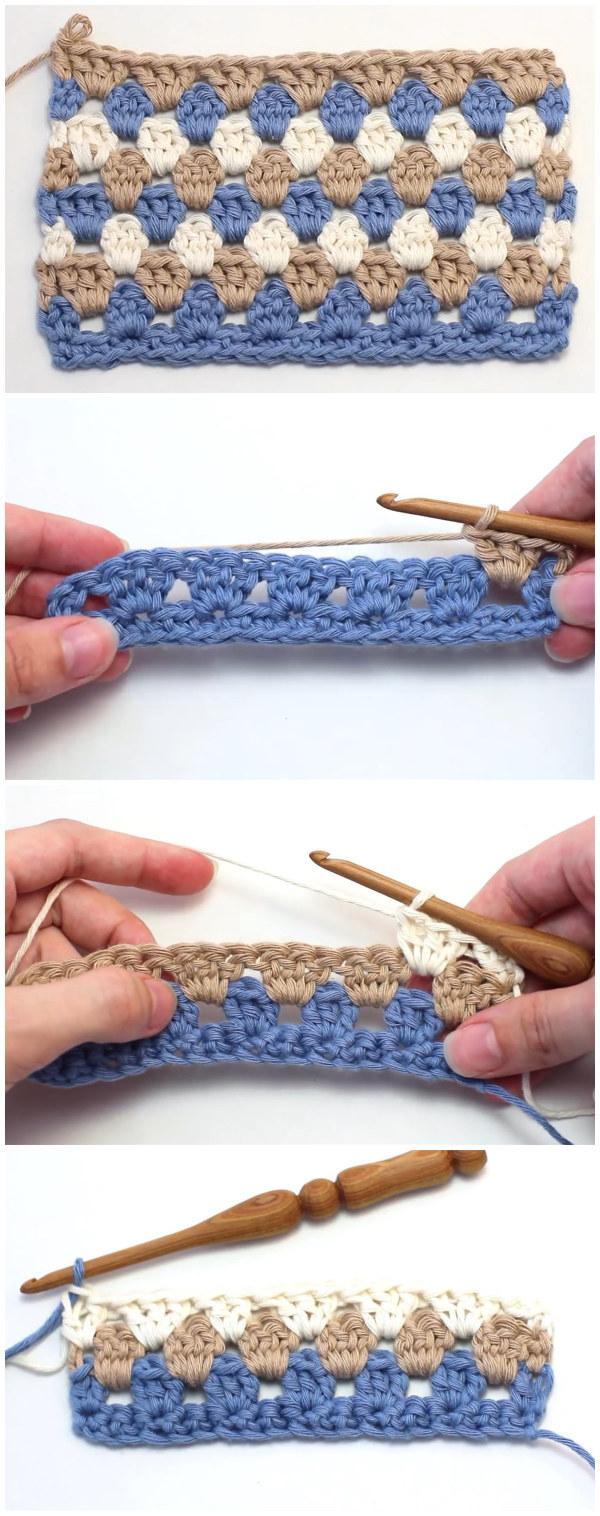 Crochet The Granny Stripe Stitch
