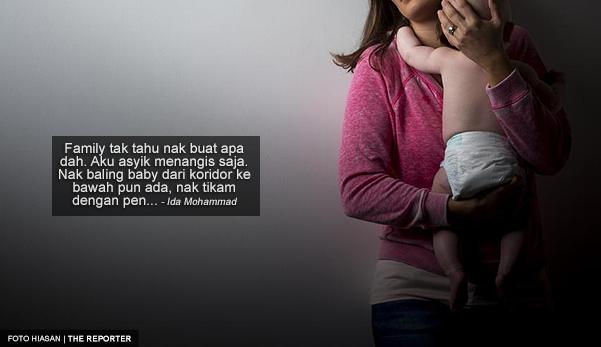 """""""Aku Hampir Pijak Dan Tikam Anak Sendiri Dengan Pen Ketika Dalam Pantang"""""""
