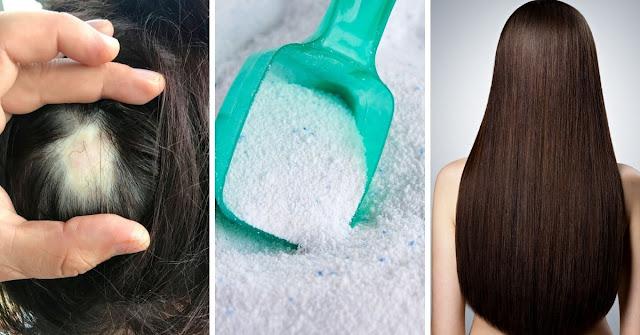 """L'effet inattendu de se laver les cheveux avec la lessive """"Roma"""""""