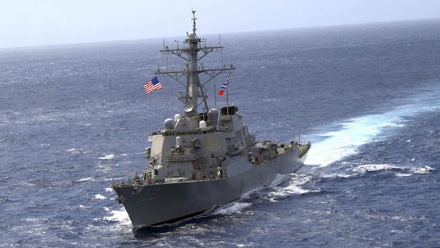 """""""Céntrense en la lucha contra el covid-19"""": China """"expulsa"""" un buque de EE.UU. de """"sus aguas territoriales"""""""