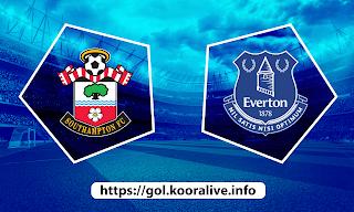 مشاهدة مباراة ايفرتون ضد ساوثهامتون 01-03-2021 بث مباشر في الدوري الانجليزي