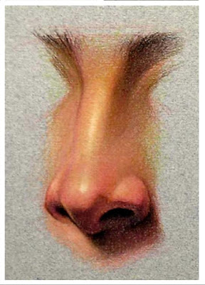 """ Nose drawing by icuong """