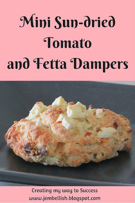 Mini Sundried Tomato and Fetta Dampers