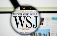 Wall Street Journal (WSJ) (Credit: Shutterstock) Click to Enlarge.