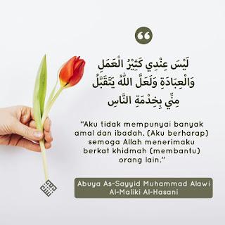 Quote Sayid Muhammad Alawi