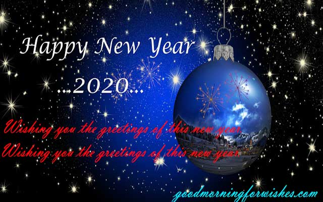 happy new year SMS messages for wishes2020