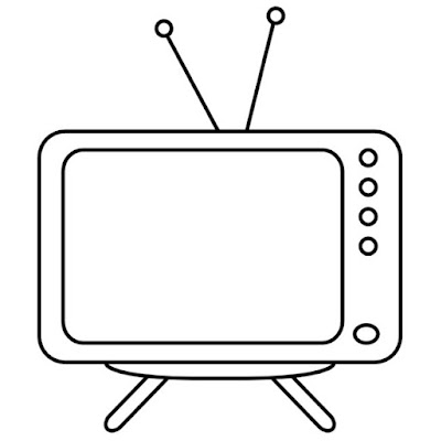 Gambar Sketsa TV