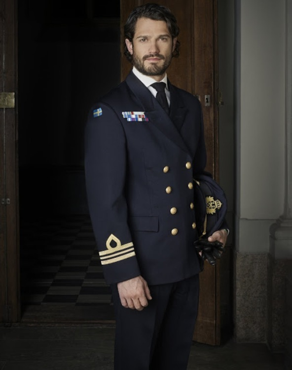 New Official Photos Of Prince Carl Philip Of Sweden