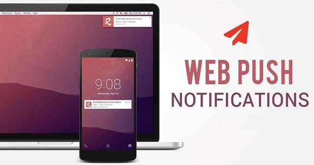 web push notifications higher conversion rates retail business increase website traffic