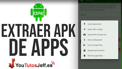 Como Extraer APK de Aplicaciones Android