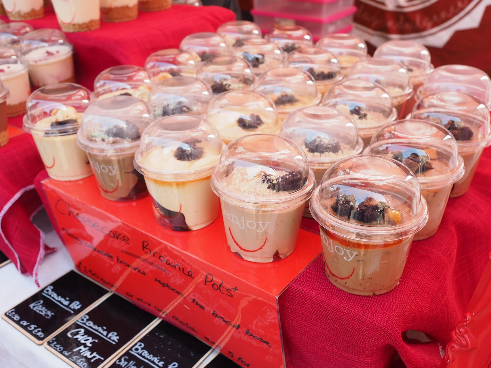 simply cheesecake newcastle quayside street food market