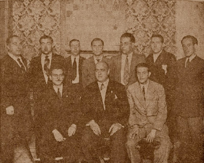 La Junta de la Federació Catalana d'Escacs en 1933